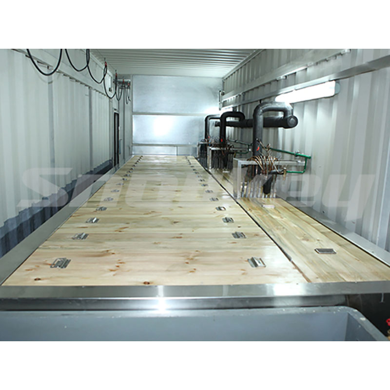 3-Containerized block ice machine