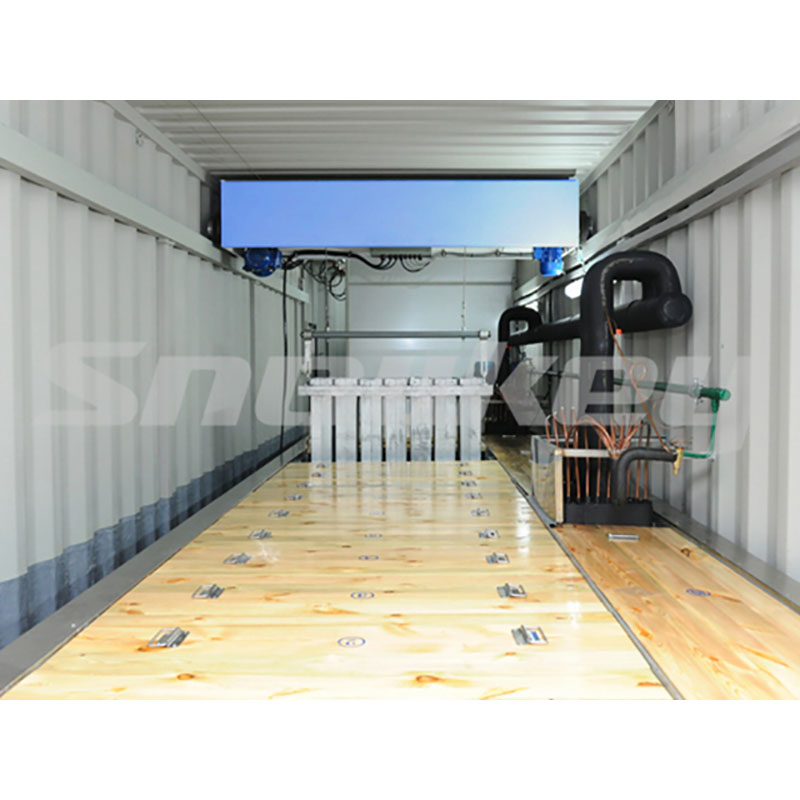 2-Containerized block ice machine