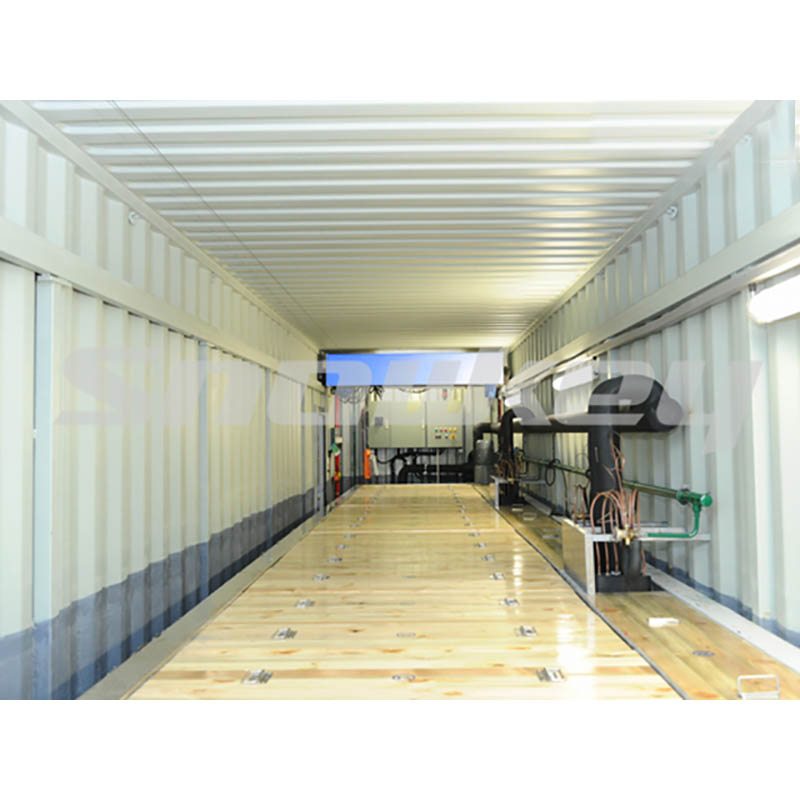 1-Containerized block ice machine
